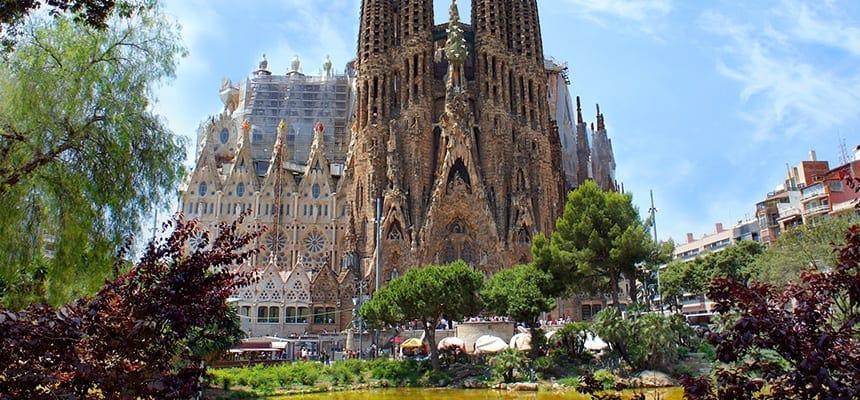 Barcelonan nähtävyydet