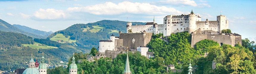 Festung Hohensalzburg linna Salzburgissa
