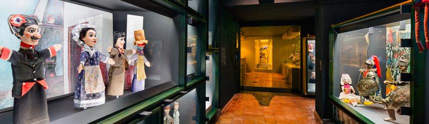 Museu da Marioneta -marionettimuseo Lissabonissa