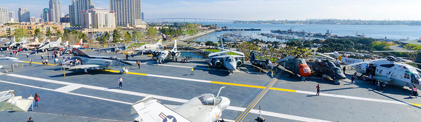 USS Midway Museum –laivastomuseo